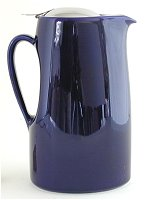 Saturated Blue Teapot 45 oz
